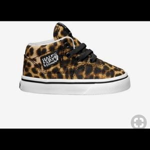 IN SEARCH OF Leopard Half Cab Vans size 7c or 8c